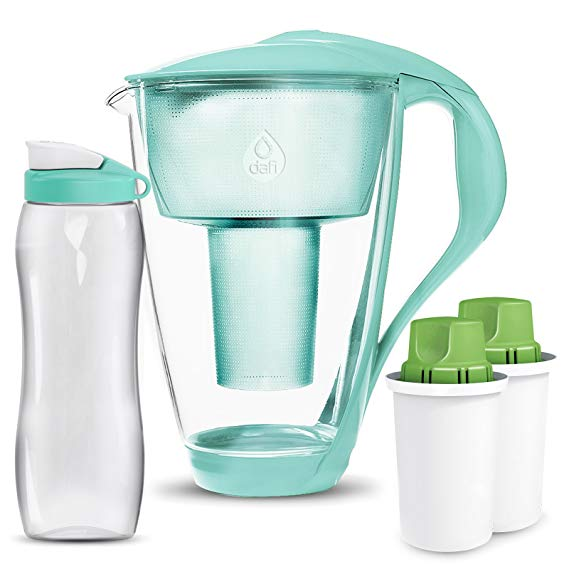 best water filter pitcher Dafi UP Crystal Glass