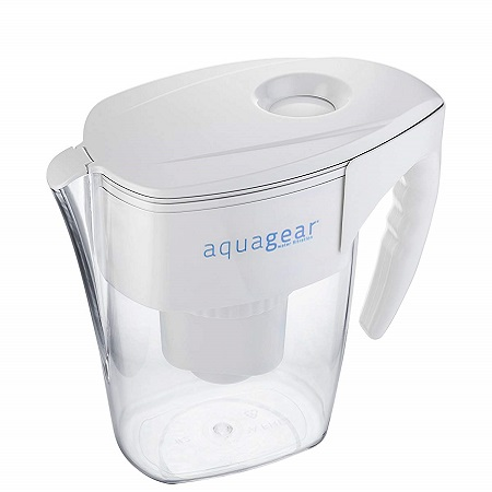 aquagear filtered water pitcher
