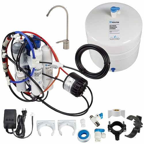 best under sink iron water filter Home Master Hydroperfection