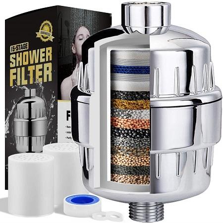 best shower filter aquaeva shower filter