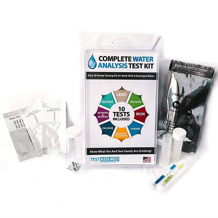 best water test kit Test Assured Drinking Water Test Kit