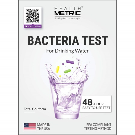 best water test kit health metric bacteria