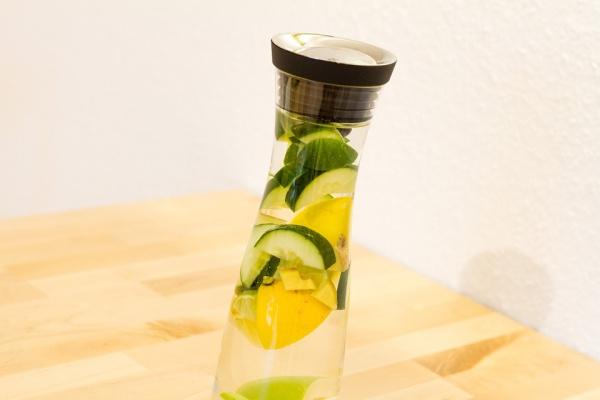 cucumber alkaline water