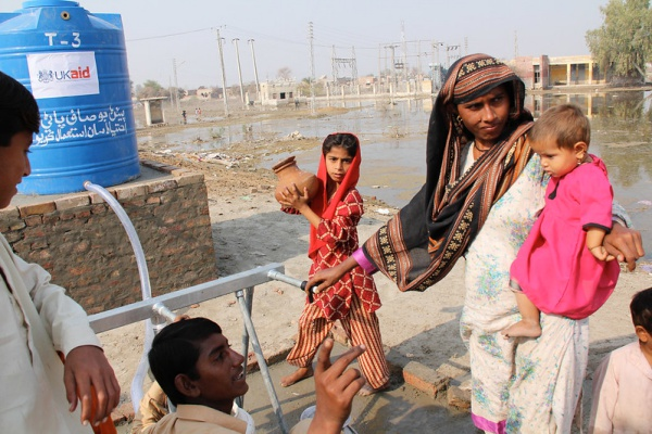 Tackling the Pakistan Water Crisis One Drop of Water a Time