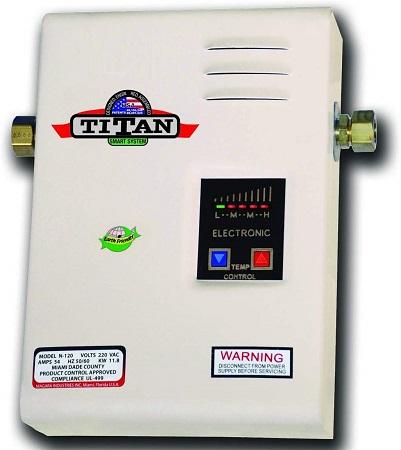 Titan best tankless water heater