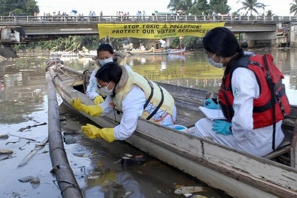 marilao river pollution
