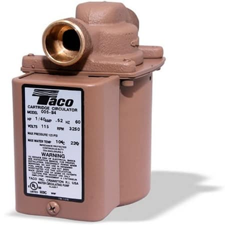 best hot water recirculating pump taco