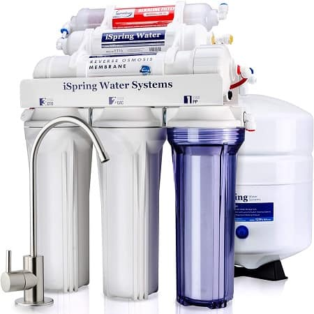 best reverse osmosis system iSpring RCC7AK 6-Stage